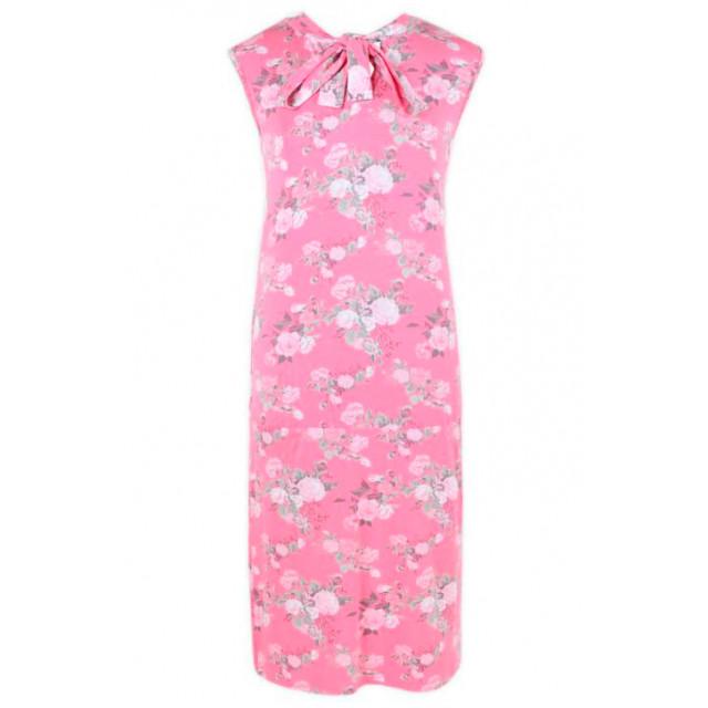 Платье E5059-1 розовый