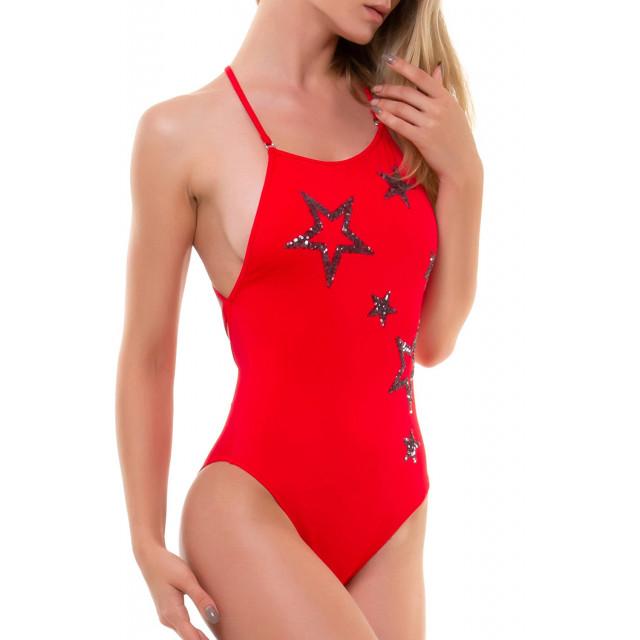 Купальник Shining star красный 1