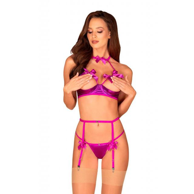 Открытый комплект Delishya фиолетовый