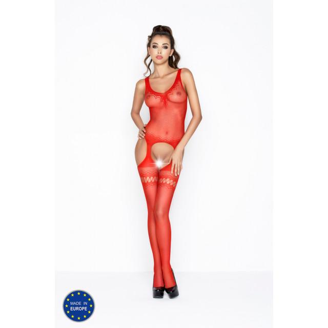 Боди-комбинезон BS038-2 красный